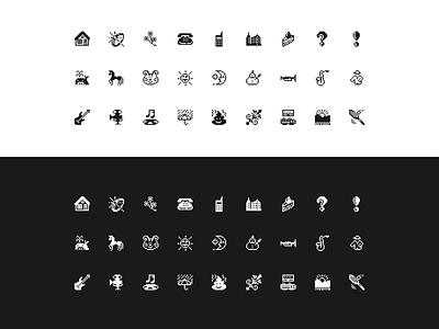 Emoji 1997 — for Figma & Sketch [Freebie] ✦ pixel art vector graphic design retro branding illustration symbols original emoji softbank emoji iconography icon set free icons freebie design system interface figma sketch ux ui