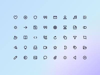 Super Basic Icons — 160 Free Icons 🎁 graphic design branding vector stroke outline basic super iconography free icons illustration design components symbols freebie design system interface figma sketch ux ui