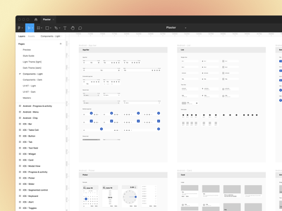 Mobile design made easy 📱 mobile ui kit responsive design free native components android ios mobile figma template ui kit design system interface sketch figma ux ui