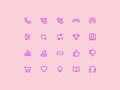 Super Basic Icons 07 icons basic interface ui ux design system daily iconography glyph outline stroke icon