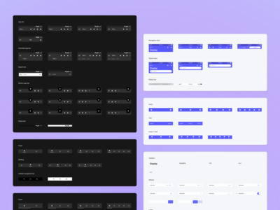 Plaster Design System - Android & iOS Components 🛠️
