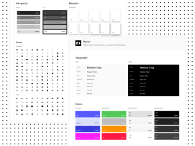 Plaster Design System - 🎨Colors & Styles