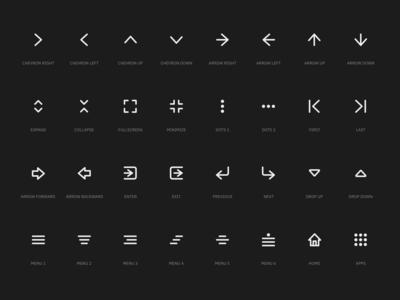 Super Basic Icons - Navigation Set