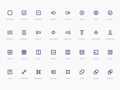 Super Basic Icons - Interface Set
