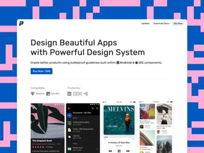 Plaster - Mobile Design System v.1.7