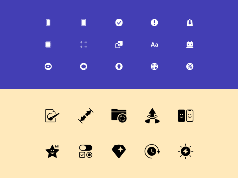 Plaster Icons 🌟 free sketch free freebies glyph icon pack icons set svg vector typography web design ui kit symbols icons design system interface freebie sketch ux ui