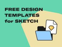 Free Design Templates for Sketch 🔥