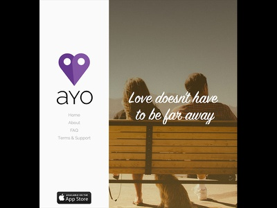 Ayo Website web dating app