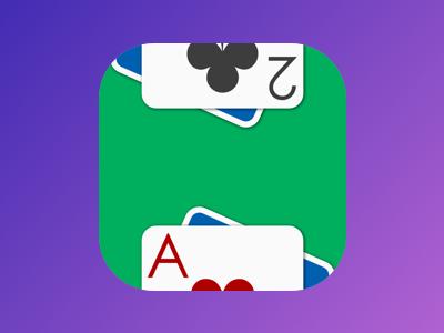 Card App Icon card game app icon cards app ios