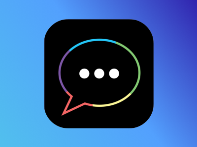 GiphyChat iOS app icon chat ios app