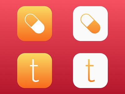 trāck Icon Concepts iphone app app icon ios icons track app