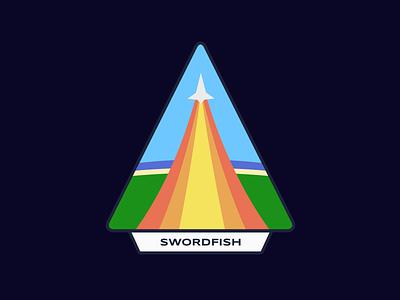 IASP: Swordfish mission program aeronautical immersive iasp patch space