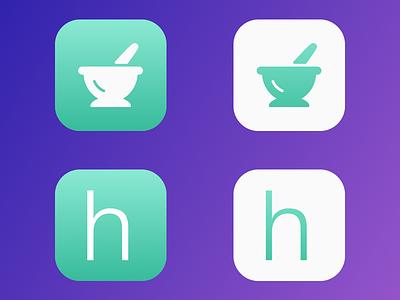 heālth pro Icon Concepts iphone app app icon ios icon app