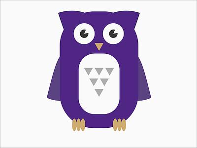 OWL Rebrand 2 vector owl lms learning glasses