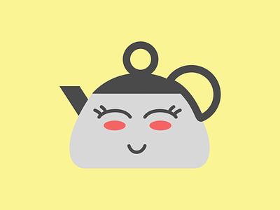 Kawaii Kettle ios app reminder cutesy cute tea kettle kawaii