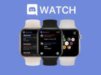 Discord Watch esports gaming chat apple watch watch discord