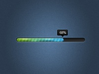 Sleek progress bar