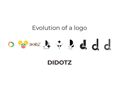 LOGO evolution didotz logo logo design process logodesign