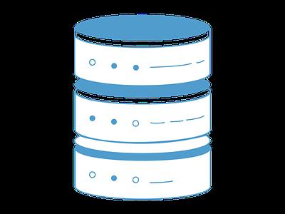 database icon design element icon design icon database