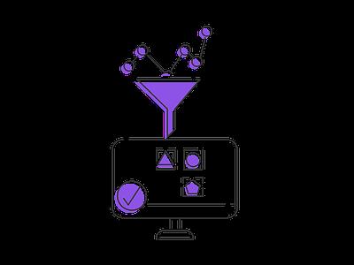 Data Intelligence into actionable insights didotz shadow icon data analysis data insights data intelligence