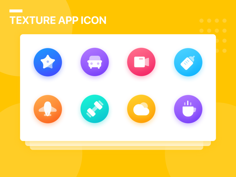 Texture App Icon logo ui vector branding illustration icon