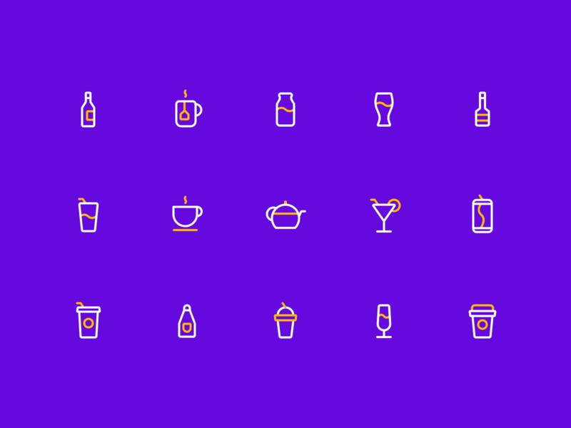Bottle Icon color building logo design ui vector branding illustration icon