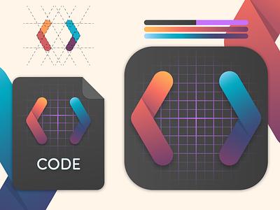 Codecloud icon Mac bigsur folder branding brand designer cloud code pixel codecloud adobe project web julien illustrator identity icon vector art illustration design