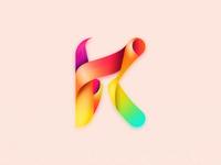 K logo