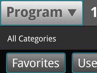 Touchscreen UI