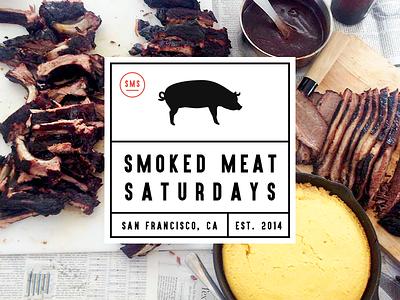 Smoked Meat Saturdays Stickers free sticker mule stickers