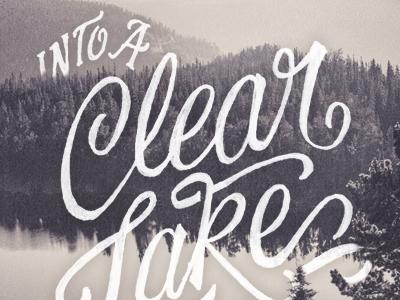Clear lake dribbble