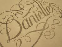 Danielle - on Paper