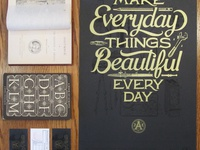 Make Everyday Things Beautiful