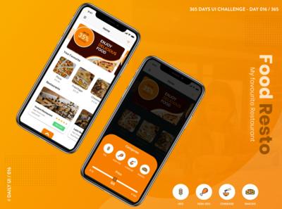 365 DAYS UI CHALLENGE, DAY 016/365, #Dailyui