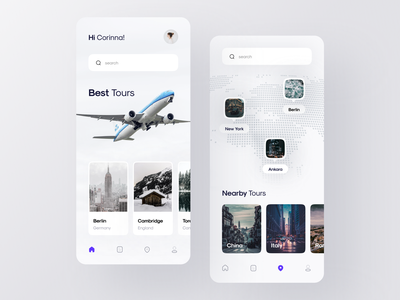 Flight Ticket Booking App | Part 2 minimalist travel ticket minimal location fly design buy bill airport airplanes airplane airline aircraft