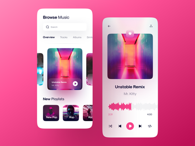 Music playe Light mood figma modern clean player neumorphic design song playing cover playlist glassmorphism neumorphism neumorphic dark ui dark mode dark media player music player music app media music