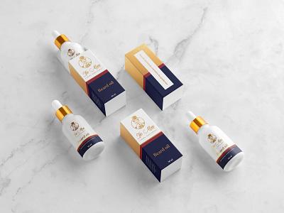 Package design for Tie Man beard oil package mockup mockup design mockup package design packaging brand design brand identity logo branding minimal clean clean design graphic design design