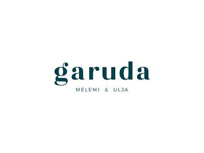 Logo design for Garuda - natural cosmetics brand fonts font font design typography art typographic typeface logodesign logo design logotype branding design logo brand identity branding design brand design minimal graphic design clean design clean