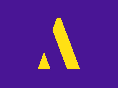 Letter A - style n.1