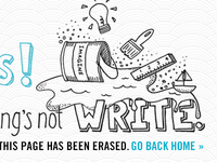IdeaPaint 404 Page