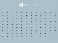 Lexicon - Lifeicons