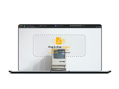 File upload files browser uiux ui design drag drop drag