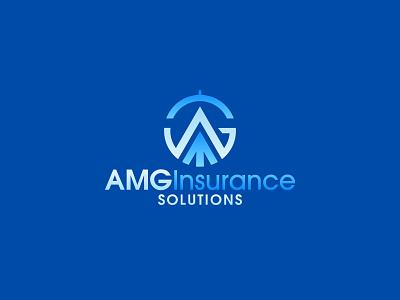 AMG insurance company bluecolor blue insurance insurancelogo design icon minimalistlogo logo design vector minimal flat branding logodesigner logo