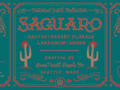 Saguaro Candle // Good & Well Supply Company