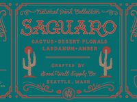 Saguaro Candle // Good & Well Supply Company
