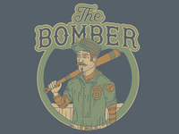 The Bomber // Pillbox Bat Co. artist series