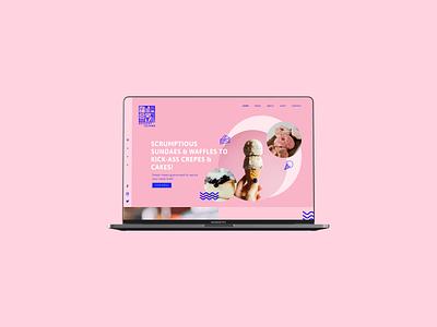 Dessert Island Website Concept ui design uidesign brand designer design webdesign website website design ux ui brand design branding graphic design