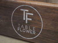Logo Design : Table Flower