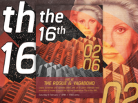 Poster design: The 16th