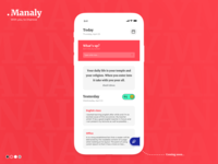 Daily notes app